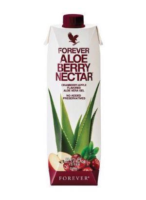 Miąższ Aloe Vera z Sokiem z Żurawin Aloe Berry Nectar