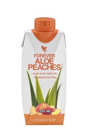 Forever Aloe Peaches 330ml Mini