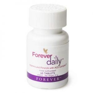 Komplet witamin i składników mineralnych Forever Daily